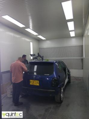 Cabina Pintura Automotriz F3